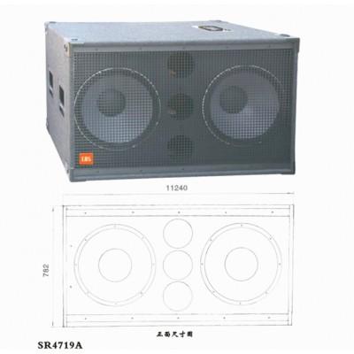 供应专业音响.超低音音响 大功率双十八寸.SR4719A舞台音箱