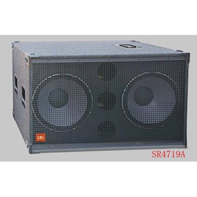 供应专业音响.超低音 双十八寸.SR4719A舞台音箱