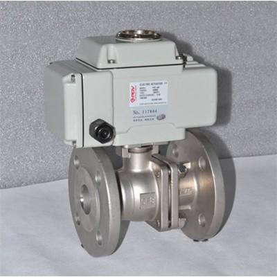 Q941F-16型电动球阀 电动法兰球阀